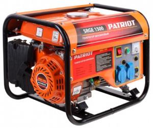 Купить Бензиновый генератор PATRIOT SRGE 1500 Москва