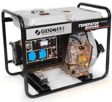 Дизельный генератор GENCTAB GSDG-5000CLE-W