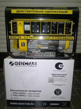 Генератор однофазовый Genctab PRG-3000CL