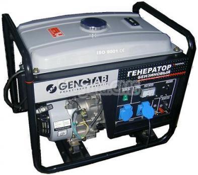 Генератор Однофазовый Genctab GSG-3000CL