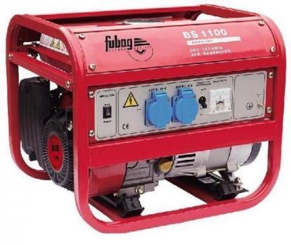 Купить Бензиновый генератор FUBAG BS 1100 Москва, цена