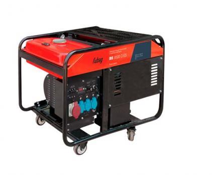 Купить Бензиновый генератор Fubag BS 9500 D ES Москва