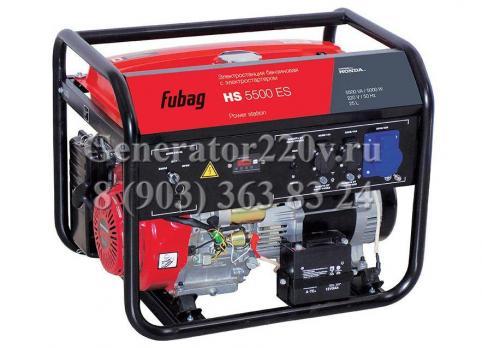 Купить Бензиновый генератор Fubag HS 5500 ES Москва