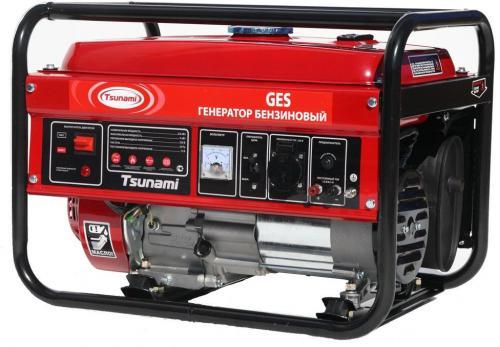 Генератор бензиновый Tsunami GES 6501