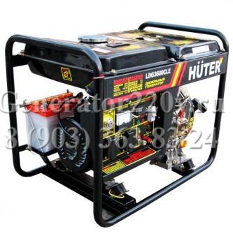 Купить Дизельный генератор HUTER LDG 3600 CLE москва