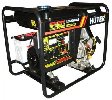 Купить Дизельный генератор Huter LDG 5000 CLE Москва