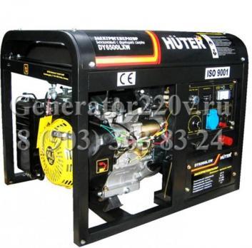 Купить Бензиновый генератор сварочный Huter DY 6500 LXW Москва