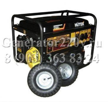 Купить Бензиновый генератор Huter DY 6500 LX Москва