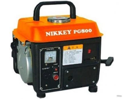 Бензиновый генератор Nikkey PG-800