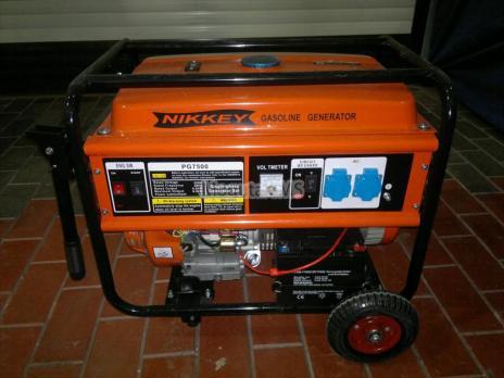 Бензиновый генератор Nikkey PG-7500