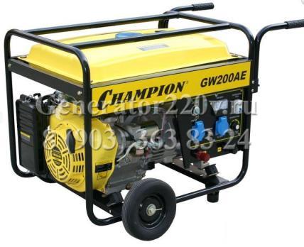 Купить Электро генератор сварочный Champion GW200AE Москва, цена