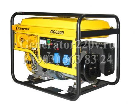 Купить Бензиновый генератор Champion GG6500 Москва, цена