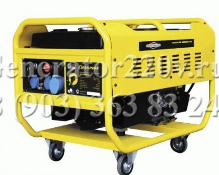 Купить Бензиновый генератор Champion GG 10000 EBS Москва