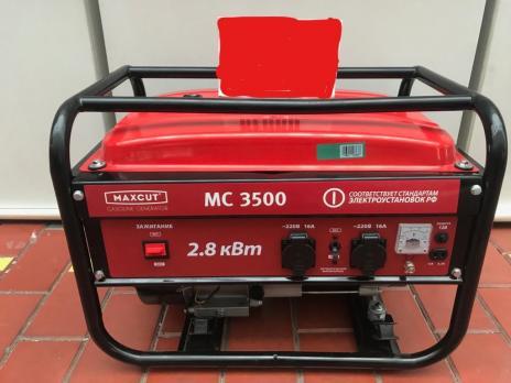 Бензиновый генератор MaxCut MC 3500