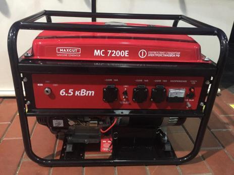 Купить Бензиновый генератор MaxCut MC 7200 Е Москва