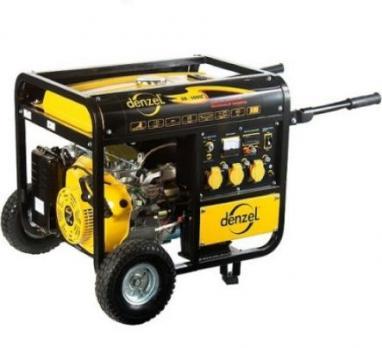 Купить Генератор бензиновый DENZEL DB 8500 Е москва