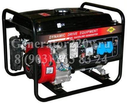 Купить Бензиновый генератор DDE GG 2700 цена 8900 руб Мосева