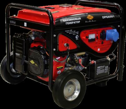 Купить Бензиновый генератор DDE DPG 6501 Е