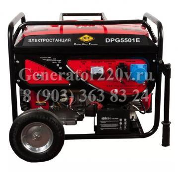 Бензиновый генератор DDE DPG 5501 E
