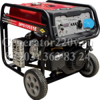 Купить Бензиновый генератор DDE DPG 10551 E цена 45000 руб Москва