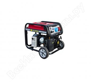 Купить Бензиновый генератор трехфазный DDE DPG 10553 E цена 67800 руб Москва