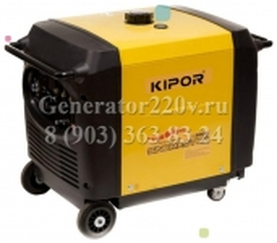 Бензиновый инверторный генератор KIPOR IG 6000 цена 23400 руб Москва