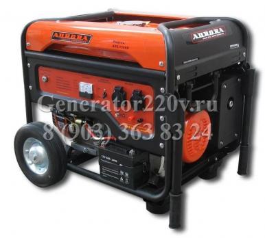 Купить Бензиновый генератор Aurora AGE 7500 D цена 31950 руб