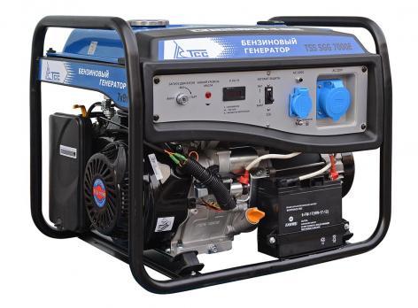 Бензиновый генератор ТСС SGG 7000 E3 Москва