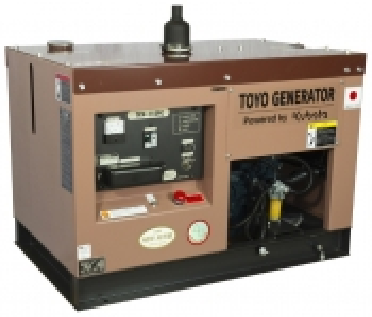 Дизельный генератор Toyo TKV-11SPC в кожухе Москва