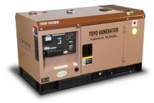 Дизельный генератор Toyo TKV-14TBS в кожухе Москва
