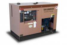 Дизельный генератор Toyo TKV-20TPC в кожухе Москва