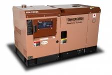 Дизельный генератор Toyo TKV-20TBS в кожухе Москва