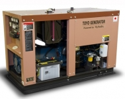 Дизельный генератор Toyo TG-21SPC в кожухе