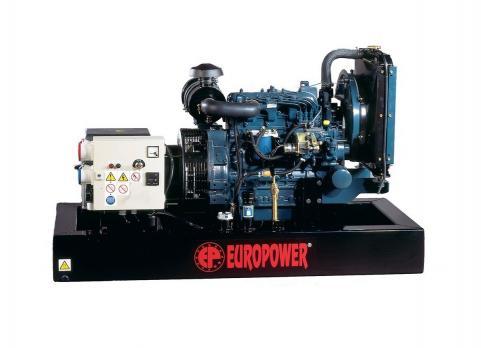 Дизельный генератор EUROPOWER EP 11 DE Москва
