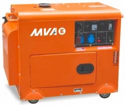 Дизельный генератор MVAE ДГ 5300 К с АВР МОСКВА