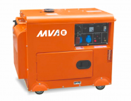 Дизельный генератор MVAE ДГ 6300 К с АВР Москва