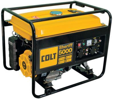 Бензиновый генератор COLT Sheriff 5000