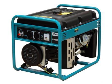 Бензиновый генератор WERT G 6500
