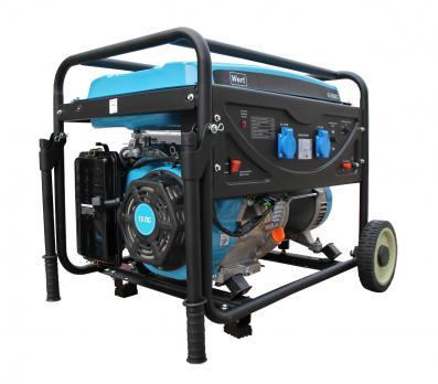 Бензиновый Генератор WERT G6500C