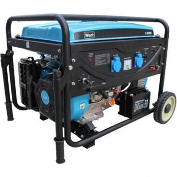 Бензиновый Генератор WERT G8000