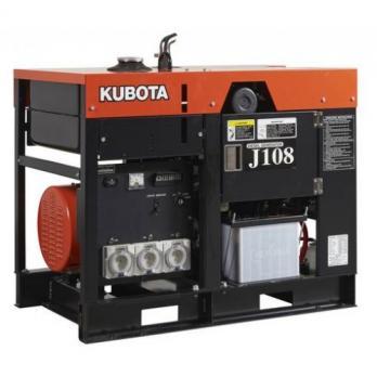 Дизельный генератор Kubota J 108 с АВР