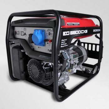 Купить Бензиновая электростанция Honda EG5500CXS RGH, цена 105000 руб, Москва