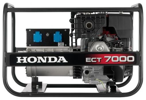 Бензиновая электростанция Honda ECT7000