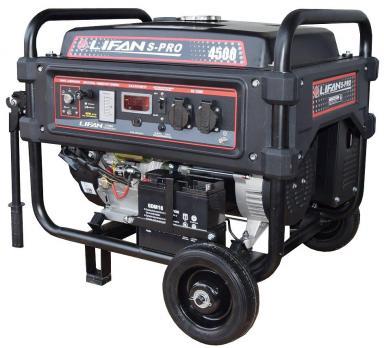 Купить Бензиновый генератор LIFAN S-Pro 4500, цена 32200 руб, Москва
